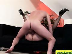 Mature stockings plowed in her tight pussy from behind tube porn video