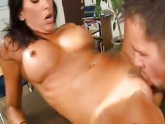 Lezley Zen and Johnny Castle tube porn video