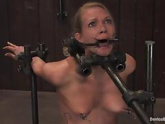 Choking, BDSM, Blonde, Bondage, Choking, Deepthroat