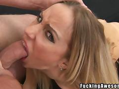 choke on that cock and suck it