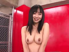 Asian, Asian, Babe, Brunette, Masturbation