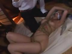 Choking, Asian, Blowjob, Bondage, Bound, Choking