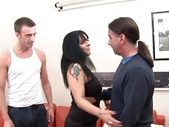 Mature brunette Layla being drilled so hot