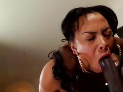 Jade Aspen suck black dick of Rico Strong