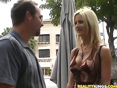 Fake Tits, Big Tits, Blowjob, Couple, Cowgirl, Doggystyle