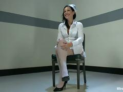 Tori Lux gets punished and fucked by salacious nurse Lorelei Lee