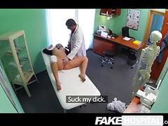 Fake Hospital - Doctors cock heal sexy squirt tube porn video