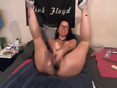Passionate multi toy hot wax squirt video