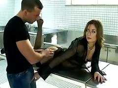 Office, Blowjob, Cum in Mouth, Cumshot, Desk, Doggystyle