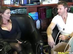 Horny Violet gets her shaved pussy fucked in close-up scenes