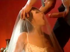 Bride, Blowjob, Bride, Couple, Cowgirl, Doggystyle
