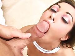 Bedroom, Bedroom, Brunette, Deepthroat, Pornstar, POV