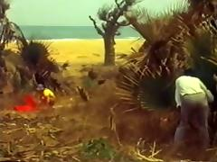 Nude Beach - Vintage African BBC Bareback porn tube video