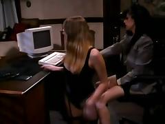 Naughty Boss Spanked Her Secretary In The Middle Of Her Office