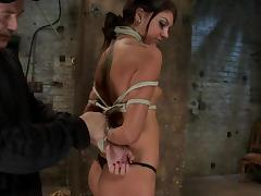 Bound, BDSM, Big Cock, Blowjob, Bondage, Bound
