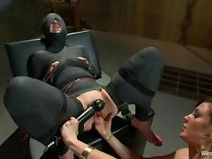 Nasty Vivienne Del Rio gets wrapped and toyed deep in the ass tube porn video