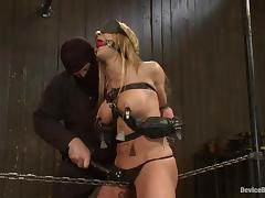 Blindfolded, BDSM, Blindfolded, Bondage, Slave, Bend Over