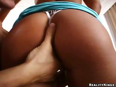 Nataly gets her pussy tasted and fucked doggy style