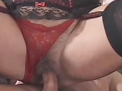 Pretty hot granny fuck in her hairy hole