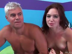 Jodi Taylor sucks a huge black dick and gets her cunt ripped apart