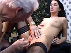 Clarissa fuck with old dick of Johan tube porn video