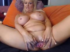 Webcam - Busty 47 year old slut with big pussy teasing, #2