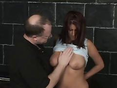 American, American, BDSM, Old Man, Teen, Old and Young
