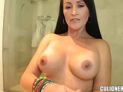 Paula gives a blowjob and gets her cooch licked and fucked