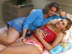Mommy, Cunt, Kissing, Lesbian, Lick, Masturbation