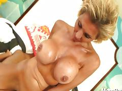 Titty Fuck, Amateur, Big Tits, Blowjob, Boobs, Couple
