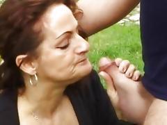 Lick, Anal, Assfucking, Blowjob, Brunette, Couple