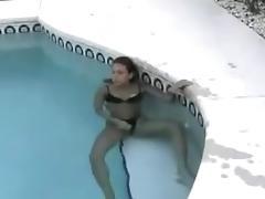Teen Couple Pool Fuck tube porn video