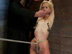 Bondage, BDSM, Bondage, Boobs, Skinny, Slave