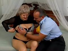 Mature Bitch Knows How To Make This Horny Dude Pleased