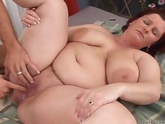 Chubby, Ass, BBW, Blowjob, Brunette, Chubby