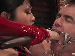 NOthing is worse for a man to be tortured by an Asian mistress