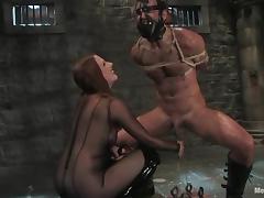 Bondage, BDSM, Bondage, Femdom, Humiliation, Redhead