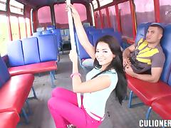 Beauty, Beauty, Bus, Couple, Cum, Cute