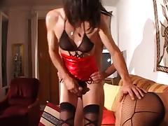 Nabila and a crossdresser porn tube video