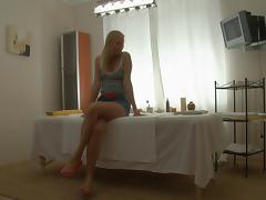 Hawt blondie has great wazoo massage