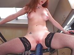 Filthy whore Audrey Hollander anal fucking