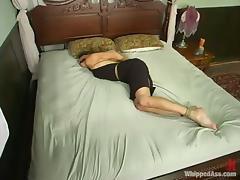 Kym Wilde enjoys humiliating short-haired slut Shawn Lesser