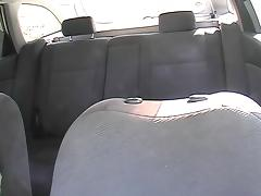Lavish cumshotvoyeured on the taxi back seat tube porn video
