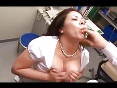 Asian Big Tits, Asian, Big Tits, Blowjob, Boobs, Couple