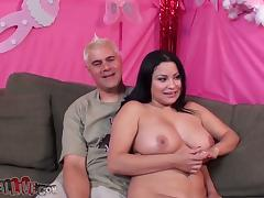 Some 69 with a filthy and chubby brunette porn tube video