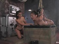 BDSM underworld welcomes a new slave Jade Indica