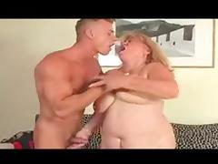 Sexy BBW Granny Fucks