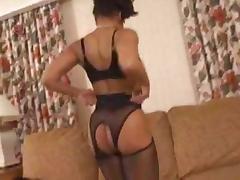 Sexy Ebony Milf Fucks White Boy tube porn video