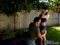 Ariana gets fucked hard after a 69 session