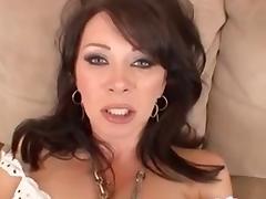 Cougar, Anal, Cougar, Creampie, POV